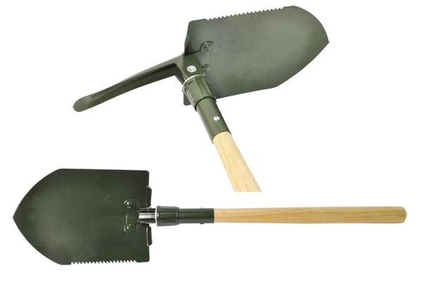 Складная лопата в машину