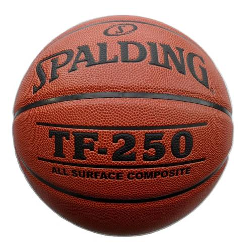 Мяч б/б SPALDING TF-250 74-532z All Surface №6 полиуретан-композит корич-черн